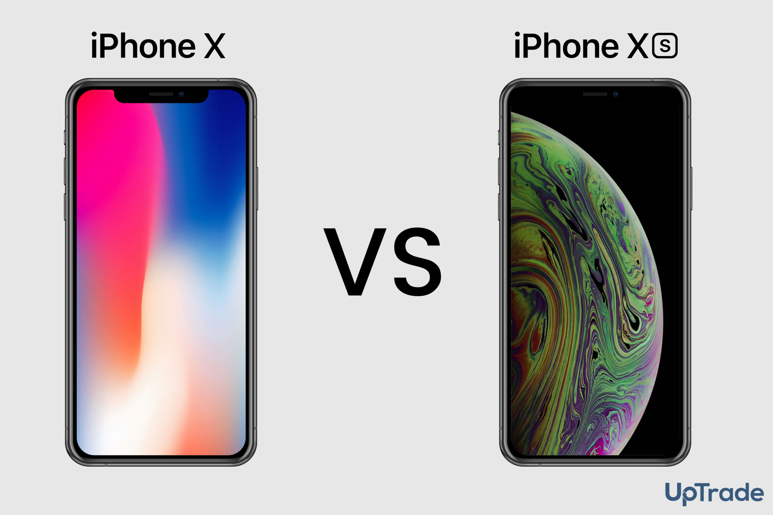 iPhone X vs XS