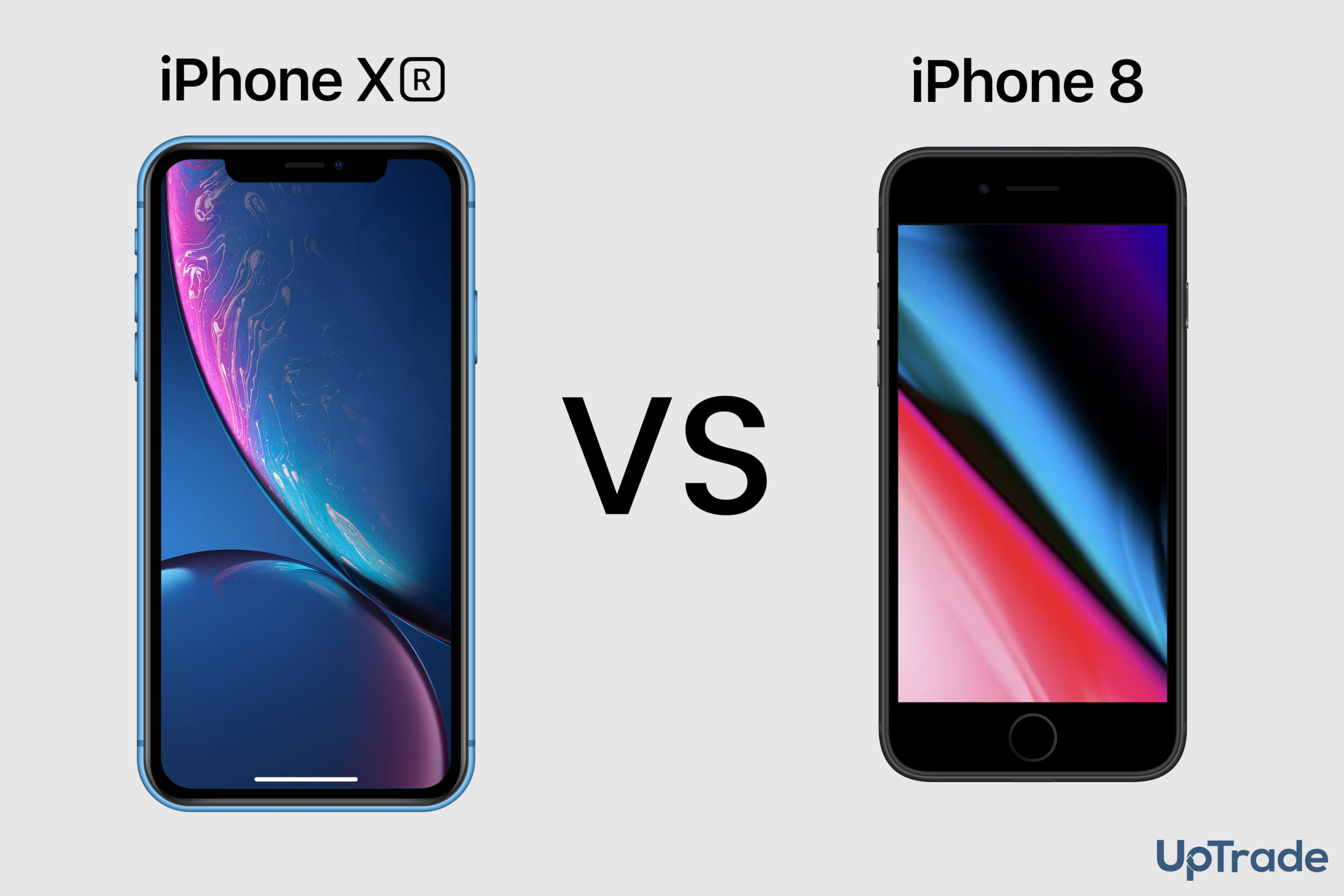 iPhone XR vs iPhone 8