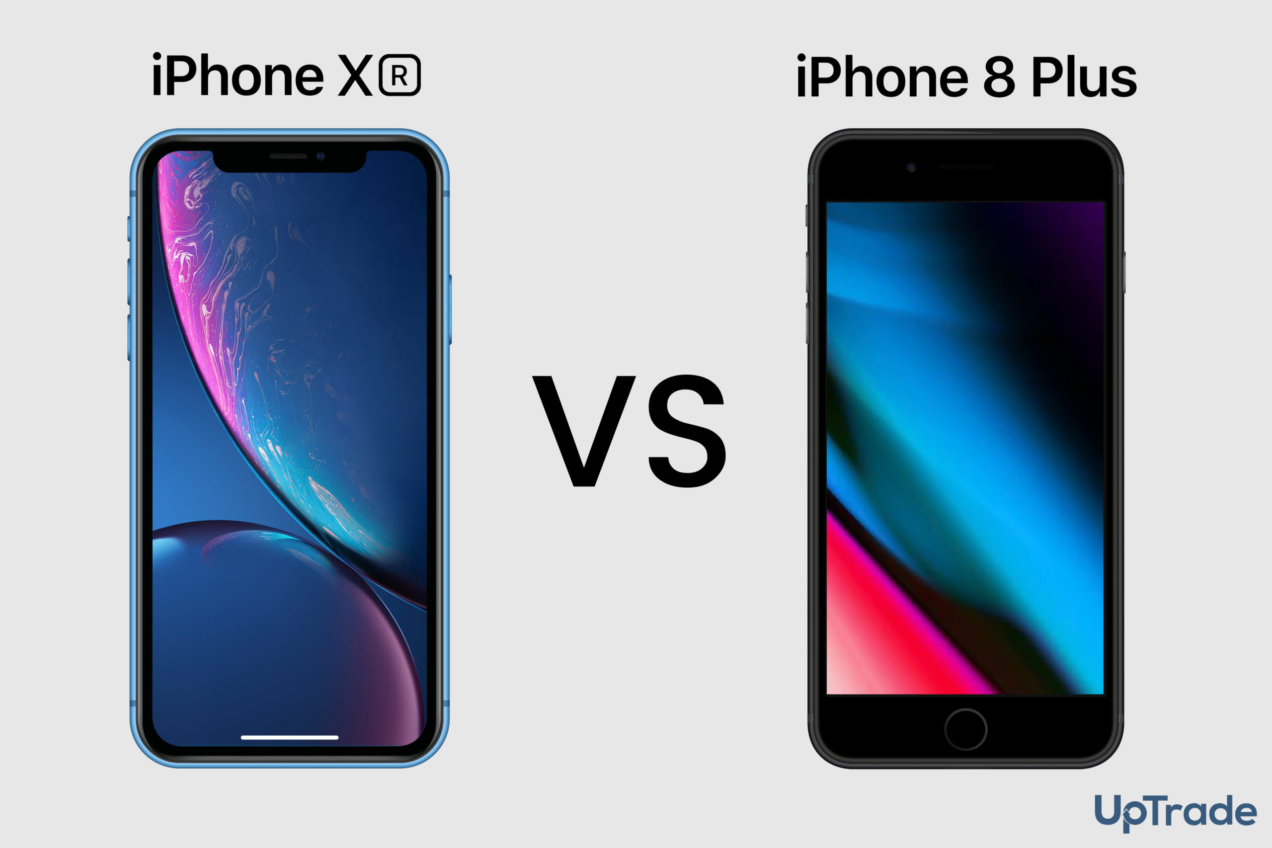 iPhone XR vs iPhone 8 Plus