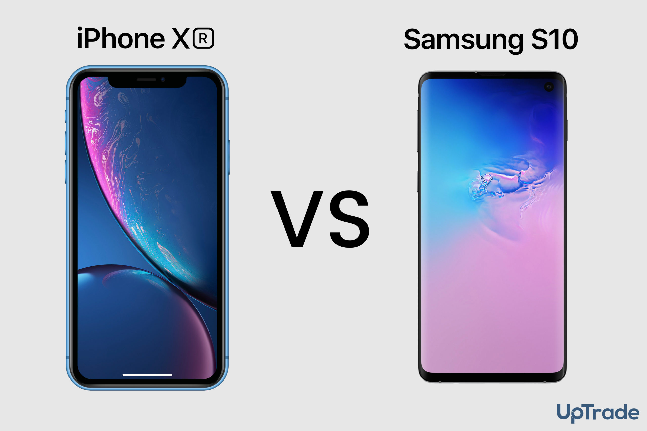 iPhone XR vs Samsung Galaxy S10